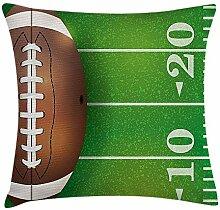 Boy's Room Throw Pillow Cushion Cover,