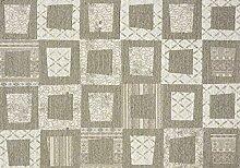boyteks bis Chenille Escondido Teppich-Möbel Rutschfest, Mischgewebe Baumwolle, Taupe, 68x 100cm