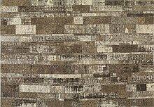 boyteks bis Chenille Hazleton Teppich-Möbel Rutschfest 56 x 120 cm