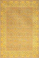 boyteks bis Chenille medenales Teppich-Möbel Rutschfest 68 x 100 cm gelb