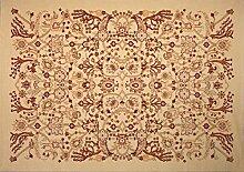 boyteks bis Chobi Teppich, Polypropylen, Creme, 60x 110x 1.2cm