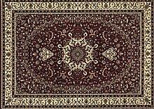 boyteks bis Istanbul Teppich, Polypropylen, Rot, 100x 200x 1.2cm