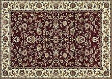 boyteks bis Istanbul Teppich, Polypropylen, Rot, 80x 150x 1.2cm