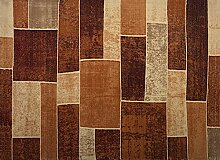 boyteks bis Metropolitan Teppich, Polypropylen/Acryl, rot, 120x 170x 1.2cm