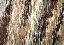boyteks bis Milano Teppich, Polypropylen, braun, 110x 170x 1.3cm