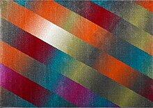 boyteks bis Milano Teppich, Polypropylen, Mehrfarbig 80x150x1.3 cm mehrfarbig