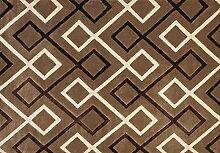 boyteks bis Parma Teppich, Polypropylen, Taupe, 140x 200x 1.5cm