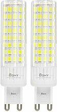 BQHY G9 LED Birnen Energiespar LED-Chip 7.5W Super