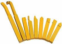 BQLZR 10x10mm Quadrat Schaft Gelb Eisen