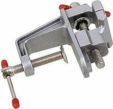 bqlzr langlebiges Aluminium Mini Juweliere Hobby Klemme auf Tragbarer Tisch Werkbank Schraubstock SCHRAUBSTOCK Werkzeug