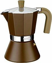 BRA Espressokocher Cream 6 Tassen