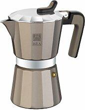 BRA Titanium Kaffeemaschine Aluminium, 1 tasse