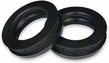 Bradas GK300C Schnellkupplung, schwarz, 3 x 3 x 1,5 cm