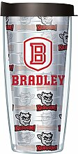 Bradley Universität Traveler Tumbler Becher mit