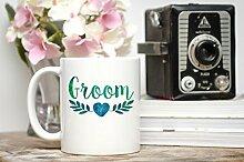 Bräutigam Kaffeebecher Bräutigam, Geschenk für