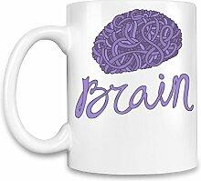 Brain Kaffee Becher