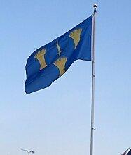 BRAND NEW 5ft x 3ft Cheshire Flagge Banner Dekoration