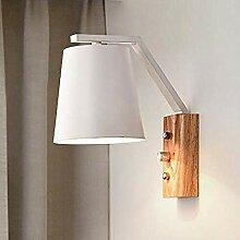 Branddb Wandlampe Leselampe aus Holz