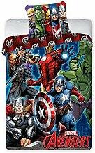 BrandMac Avengers Marvel Bettwäsche 200 x 135, 80