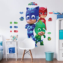 Brandneu - Wandsticker PJ Masks - Pyjamahelden