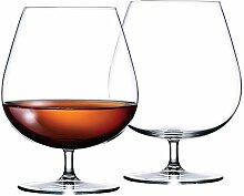 Brandy Cognac Bohemia Crystal Gläser, groß, 650