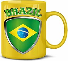 Brasilien Brazil Brasil Fan Artikel 4723 Fuss Ball