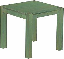 Brasilmöbel® Esstisch 80x80 Rio Kanto - Grün