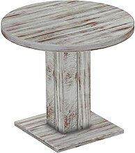 Brasilmöbel Säulentisch Rio UNO Rund 90 cm