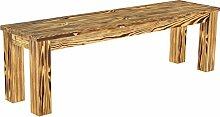 Brasilmöbel Sitzbank 'Rio Classico' 150 cm, Pinie Massivholz, Farbton geflamm