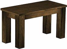 Brasilmöbel Sitzbank 'Rio Classico' 80 cm, Pinie Massivholz, Farbton Eiche antik