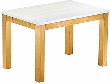 Brasilmöbel® Tisch 120x80 Rio Classiko - Snow