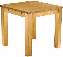 Brasilmöbel® Tisch 80x80 Rio Classiko - Honig