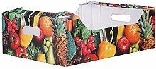 Braspack 20x Obstkiste und Gemüsekiste,