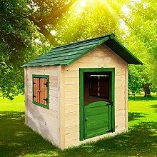 BRAST Spielhaus für Kinder 106 x111x132cm