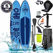 Brast - SUP Board aufblasbar SUMMER 320 blue