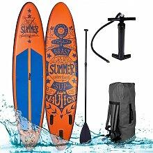 Brast - SUP Board aufblasbar SUMMER 320 orange