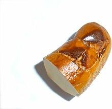 Bratwurststück weiss - Wurstmagnet, Grillen, Dekoration, geniale Geschenkidee Küchenmagnet, Foodmagnet, Geschenk