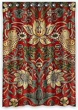 Brauch Design Entwurf Fenster Vorhang Window Curtain Licht Beweis Polyester Fabrik für Schlafzimmer oder Wohnzimmer 132 Zentimeters x 183 Zentimeters (ein Stück)