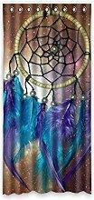 Brauch Design Entwurf Fenster Vorhang Window Curtain Licht Beweis Polyester Fabrik für Schlafzimmer oder Wohnzimmer 132 Zentimeters x 275 Zentimeters (ein Stück)