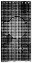 Brauch Dots Punkte Fenster Vorhang Window Curtain Licht Beweis Polyester Fabrik für Schlafzimmer oder Wohnzimmer 127 Zentimeters x 244 Zentimeters (ein Stück)