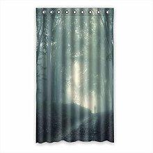 Brauch Haze Dunst Fenster Vorhang Window Curtain Licht Beweis Polyester Fabrik für Schlafzimmer oder Wohnzimmer 127 Zentimeters x 213 Zentimeters (ein Stück)