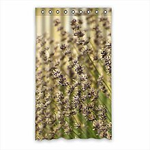 Brauch Lavender Lavendel Fenster Vorhang Window Curtain Licht Beweis Polyester Fabrik für Schlafzimmer oder Wohnzimmer 127 Zentimeters x 213 Zentimeters (ein Stück)
