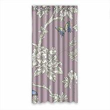 Brauch Mica Glimmer Fenster Vorhang Window Curtain Licht Beweis Polyester Fabrik für Schlafzimmer oder Wohnzimmer 132 Zentimeters x 275 Zentimeters (ein Stück)