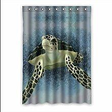 Brauch Turtle Fenster Vorhang Window Curtain Licht Beweis Polyester Fabrik für Schlafzimmer oder Wohnzimmer 132 Zentimeters x 183 Zentimeters (ein Stück)