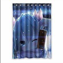 Brauch Winter (Snow) Fenster Vorhang Window Curtain Licht Beweis Polyester Fabrik für Schlafzimmer oder Wohnzimmer 132 Zentimeters x 183 Zentimeters (ein Stück)