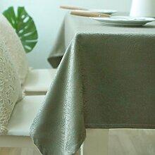 Braun blumen pflanze gelbes muster tischtuch dicke