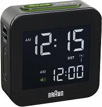 Braun - Digitaler Funkwecker BNC008, schwarz