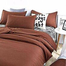 Braun Grau Zebra Bettdecke Abdeckung Einstellen 4