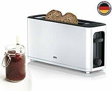 Braun HT3100WH Toaster 1 Schlitz mit 7