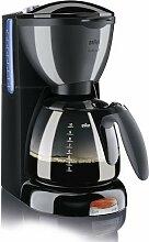 Braun KF 550 Kaffeeautomat Aroma Passion schwarz/silber